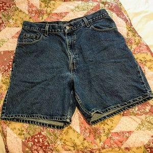 Vintage Levi Strauss Mom Jean Shorts